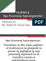 Filipino SupraSegmental