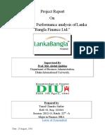 Financial Performance Analysis of Lanka Bangla Finance Ltd.