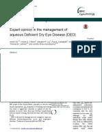 Dry Eye Disease 2