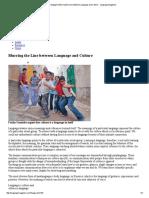 Language Magazine Blurring the Line between Language and Culture - Language Magazine.pdf