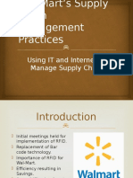 Wal-Mart's Supply Chain Management Case Study