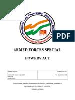 AFSPA Consti Project