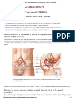 NIH - Patient Info - Prostate Cancer Treatment