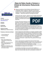 Oracle Case Study Cemaco