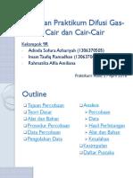 PPT Difusi Gas-Cair - Kelompok 9R (27 April 2016)
