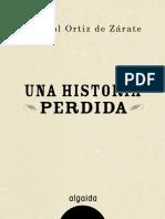 Marisol Ortiz de Zarate - Una Historia Perdida