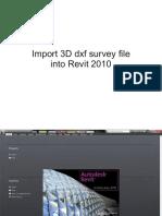 Revit Survey Import Tutorial