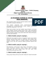 10 Pesanan Luqman Al
