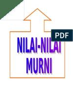1.NILAI MURNI