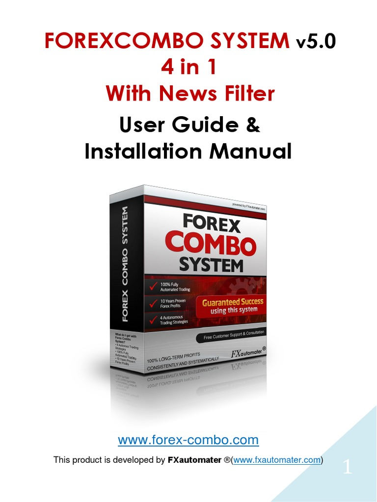 Forex Combo System is released