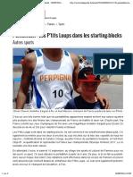 pentathlon - les p-tits loups dans les starting-blocks - 03-09-2016 - ladepeche fr - copie