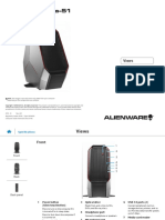 Alienware Area51 r2 Reference Guide en Us