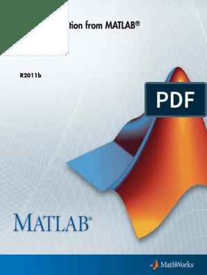 Code Generation from MATLAB pdf | Matlab | C (Programming