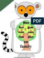 Cvc Words With Animal Background