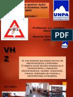 sistemas de gestion SYSO- Normas IRAM 3800