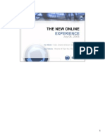 The New Online Experience - FlashForward 05 NY Conference