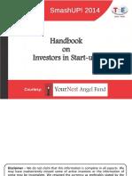 Handbook on Investors in Start Ups