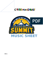 Kfc Rccs - Music Sheet