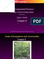 Ch6 Kinds of Ecosystems and Communities