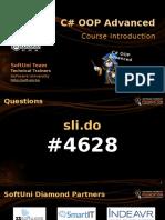 00. CSharp OOP Basics Course Intro