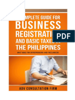 A Complete Guide for Business Registration and Basic Taxes in the Philippines ADV