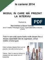 09 Prezentare Si Maniere La Interviu
