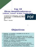 Amplificadores Colector Comun y Base Comun