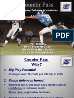 Counter Pass Clovis East HS Tim Murphy