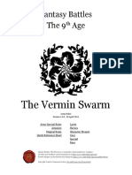 The Ninth Age the Vermin Swarm 1 0 0