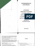 Quiñones de Benavente, Luis - El doctor Juan Rana