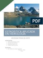 Estadística Aplicada en Hidrología