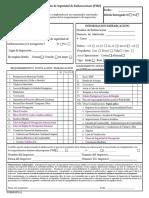 Formulario de Inspección Embarcacion