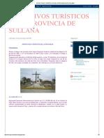 Atractivos Turísticos de La Provincia de Sullana