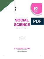 full marks social science class 10