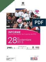 Informe Rendicion de Cuentas Gestion 2015