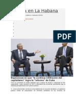 CUBA Obama en La Habana
