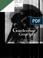 gardenbar geceleri