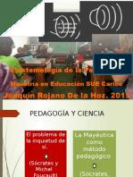 Epistmeología de la Pedagogia - Joaquin Rojano