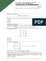 Exercicios Matematica II