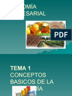 Economia Empresarial Tema 1 Conceptos Basicos de La Economia (1)