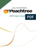 Manual Peachtree 2010