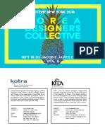 2016.9 Korea Designers Collective_ VOL 6 (Top 18 Brands)