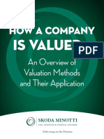 How a Company is Valued - An Overview of Valuation Methods and Their Application.pdf