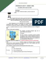 Guia Cnaturales 4basico Semana6 La Materia Todo Lo Que Nos Rodea Abril 2013