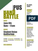 Campus Band Battle