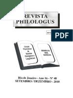 Revista Filologia