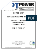 Power_Grip Clutches, Installation and mantenance