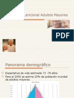 Evaluacion Nutricional Adultos Mayores 2013
