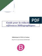 Guide Redaction de la Biblio