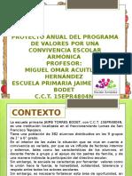 proyecto anual de covivencia 2016.pptx